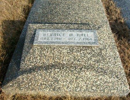 HALL, BERNICE MILDRED - Cowley County, Kansas | BERNICE MILDRED HALL - Kansas Gravestone Photos