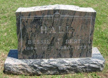 HALL, BESSIE - Cowley County, Kansas | BESSIE HALL - Kansas Gravestone Photos