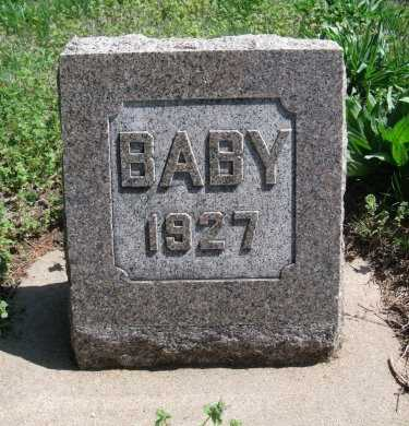 HALL, BABY - Cowley County, Kansas | BABY HALL - Kansas Gravestone Photos