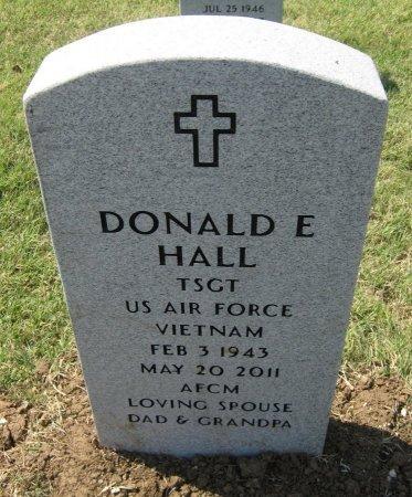 HALL, DONALD E (VETERAN VIET) - Cowley County, Kansas | DONALD E (VETERAN VIET) HALL - Kansas Gravestone Photos