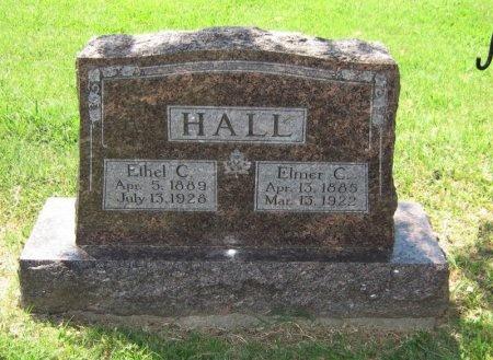 HALL, ETHEL CORA - Cowley County, Kansas | ETHEL CORA HALL - Kansas Gravestone Photos