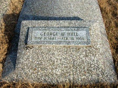 HALL, GEORGE W - Cowley County, Kansas | GEORGE W HALL - Kansas Gravestone Photos