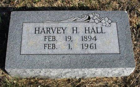 HALL, HARVEY H - Cowley County, Kansas   HARVEY H HALL - Kansas Gravestone Photos