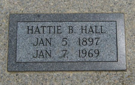 HALL, HATTIE BELL - Cowley County, Kansas | HATTIE BELL HALL - Kansas Gravestone Photos