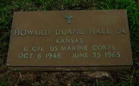 HALL, HOWARD DUANE, JR  (VETERAN DNB) - Cowley County, Kansas | HOWARD DUANE, JR  (VETERAN DNB) HALL - Kansas Gravestone Photos
