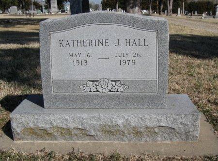 HALL, KATHERINE J - Cowley County, Kansas | KATHERINE J HALL - Kansas Gravestone Photos