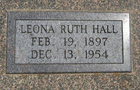 HALL, LEONA RUTH - Cowley County, Kansas | LEONA RUTH HALL - Kansas Gravestone Photos