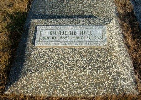 HALL, MARJORIE - Cowley County, Kansas   MARJORIE HALL - Kansas Gravestone Photos