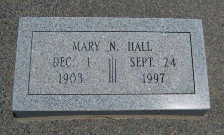 HALL, MARY N - Cowley County, Kansas | MARY N HALL - Kansas Gravestone Photos