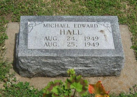 HALL, MICHAEL EDWARD - Cowley County, Kansas | MICHAEL EDWARD HALL - Kansas Gravestone Photos