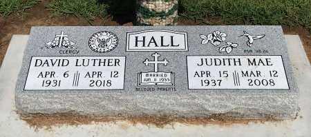 HALL, JUDITH MAE - Cowley County, Kansas | JUDITH MAE HALL - Kansas Gravestone Photos