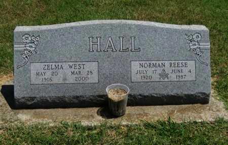 HALL, NORMAN REESE (VETERAN 2 WARS) - Cowley County, Kansas   NORMAN REESE (VETERAN 2 WARS) HALL - Kansas Gravestone Photos