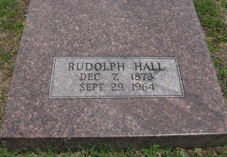 HALL, RUDOLPH - Cowley County, Kansas   RUDOLPH HALL - Kansas Gravestone Photos