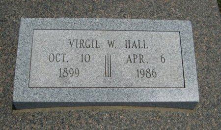 HALL, VIRGIL WESLEY (VETERAN 2WARS) - Cowley County, Kansas | VIRGIL WESLEY (VETERAN 2WARS) HALL - Kansas Gravestone Photos