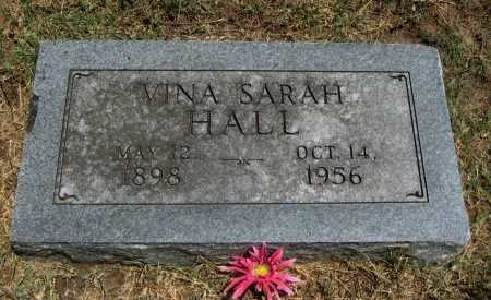 HALL, VINA SARAH - Cowley County, Kansas | VINA SARAH HALL - Kansas Gravestone Photos