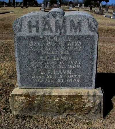 HAMM, NANCY E - Cowley County, Kansas | NANCY E HAMM - Kansas Gravestone Photos