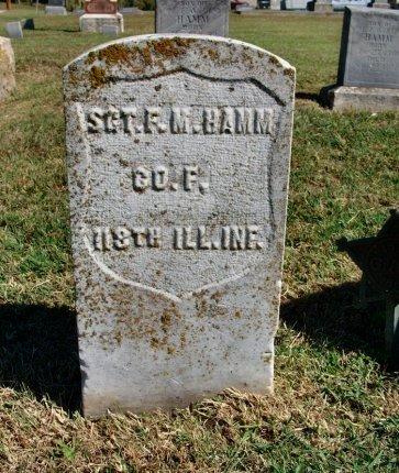 HAMM, FRANCIS MARION (VETERAN UNION) - Cowley County, Kansas | FRANCIS MARION (VETERAN UNION) HAMM - Kansas Gravestone Photos