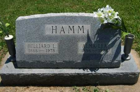 HOUSTON HAMM, ALMA LEA - Cowley County, Kansas | ALMA LEA HOUSTON HAMM - Kansas Gravestone Photos