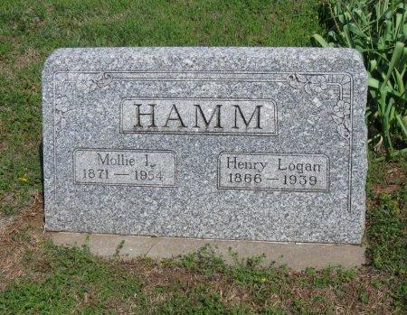 HAMM, MOLLIE ICY - Cowley County, Kansas | MOLLIE ICY HAMM - Kansas Gravestone Photos