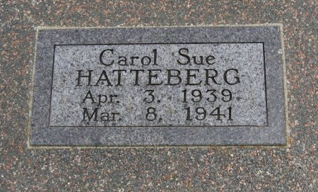 HATTEBERG, CAROL SUE - Cowley County, Kansas | CAROL SUE HATTEBERG - Kansas Gravestone Photos