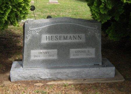 HESEMANN, HENRY - Cowley County, Kansas | HENRY HESEMANN - Kansas Gravestone Photos