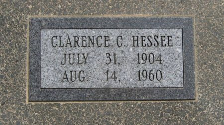 HESSEE, CLARENCE CHARLES  (VETERAN WWII) - Cowley County, Kansas | CLARENCE CHARLES  (VETERAN WWII) HESSEE - Kansas Gravestone Photos