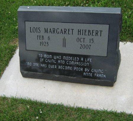 HIEBERT, LOIS MARGARET - Cowley County, Kansas | LOIS MARGARET HIEBERT - Kansas Gravestone Photos
