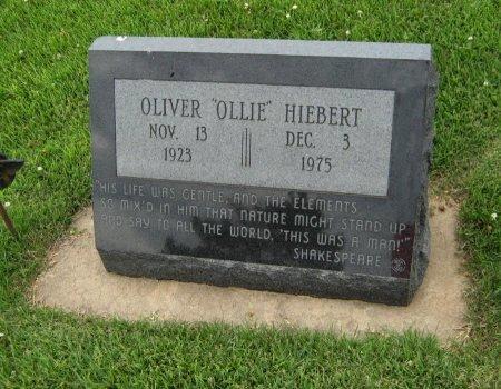 """HIEBERT, OLIVER """"OLLIE"""" (VETERAN WWII) - Cowley County, Kansas   OLIVER """"OLLIE"""" (VETERAN WWII) HIEBERT - Kansas Gravestone Photos"""