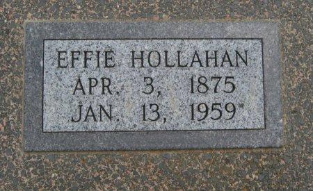 HOLLAHAN, EFFIE - Cowley County, Kansas   EFFIE HOLLAHAN - Kansas Gravestone Photos
