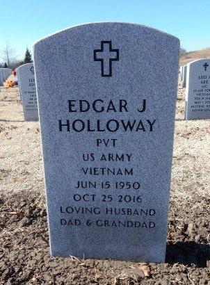 HOLLOWAY, EDGAR J (VETERAN VIET) - Cowley County, Kansas | EDGAR J (VETERAN VIET) HOLLOWAY - Kansas Gravestone Photos