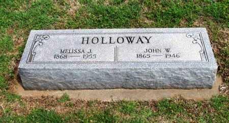 HOLLOWAY, JOHN W - Cowley County, Kansas | JOHN W HOLLOWAY - Kansas Gravestone Photos
