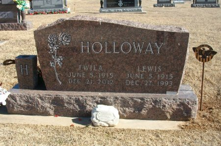 HOLLOWAY, LEWIS S  (VETERAN WWII) - Cowley County, Kansas | LEWIS S  (VETERAN WWII) HOLLOWAY - Kansas Gravestone Photos