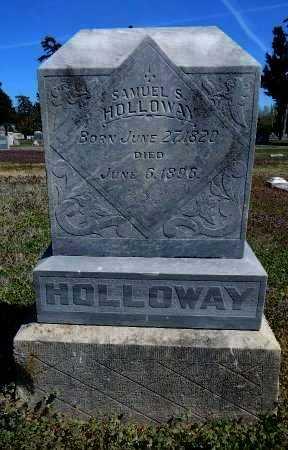 HOLLOWAY, SAMUEL S - Cowley County, Kansas | SAMUEL S HOLLOWAY - Kansas Gravestone Photos