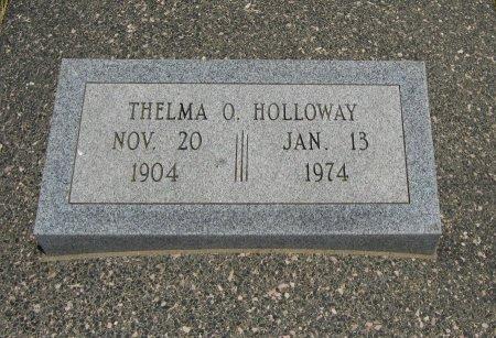 HOLLOWAY, THELMA O - Cowley County, Kansas | THELMA O HOLLOWAY - Kansas Gravestone Photos