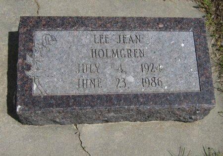 HOLMGREN, LEE JEAN - Cowley County, Kansas   LEE JEAN HOLMGREN - Kansas Gravestone Photos