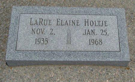 HOLTJE, LARUE ELAINE - Cowley County, Kansas | LARUE ELAINE HOLTJE - Kansas Gravestone Photos