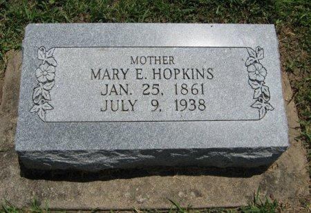 KENNEDY HOPKINS, MARY ELLEN - Cowley County, Kansas | MARY ELLEN KENNEDY HOPKINS - Kansas Gravestone Photos