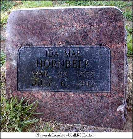 HORNBEEK, IDA MAE - Cowley County, Kansas | IDA MAE HORNBEEK - Kansas Gravestone Photos
