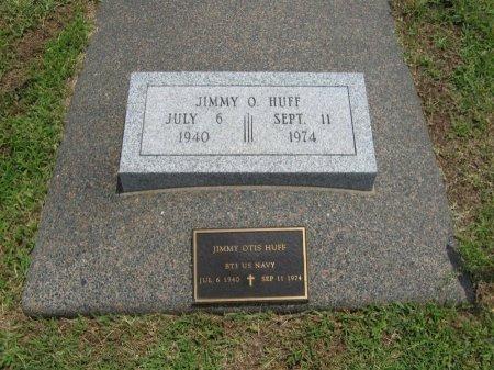 HUFF, JIMMY OTIS (VETERAN) - Cowley County, Kansas | JIMMY OTIS (VETERAN) HUFF - Kansas Gravestone Photos
