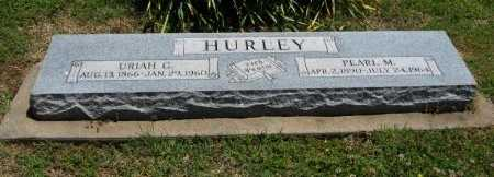 LEWIS HURLEY, PEARL MAY - Cowley County, Kansas | PEARL MAY LEWIS HURLEY - Kansas Gravestone Photos