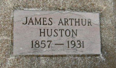 HUSTON, JAMES ARTHUR - Cowley County, Kansas   JAMES ARTHUR HUSTON - Kansas Gravestone Photos