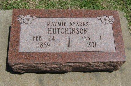 HUTCHINSON, MAYMIE - Cowley County, Kansas   MAYMIE HUTCHINSON - Kansas Gravestone Photos