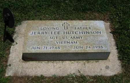 HUTCHINSON, JERRY LEE (VETERAN VIET) - Cowley County, Kansas | JERRY LEE (VETERAN VIET) HUTCHINSON - Kansas Gravestone Photos