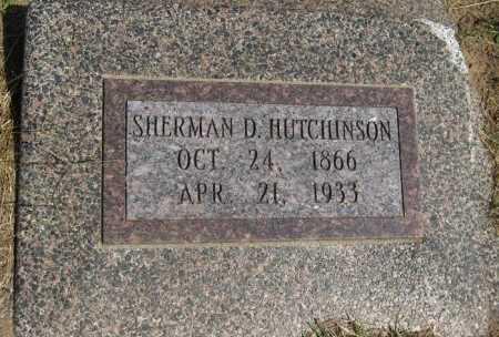HUTCHINSON, SHERMAN D - Cowley County, Kansas   SHERMAN D HUTCHINSON - Kansas Gravestone Photos