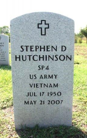 HUTCHINSON, STEPHEN D (VETERAN VIET) - Cowley County, Kansas | STEPHEN D (VETERAN VIET) HUTCHINSON - Kansas Gravestone Photos