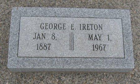 IRETON, GEORGE E - Cowley County, Kansas | GEORGE E IRETON - Kansas Gravestone Photos