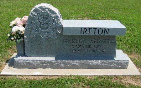 IRETON, MARTHA A - Cowley County, Kansas | MARTHA A IRETON - Kansas Gravestone Photos