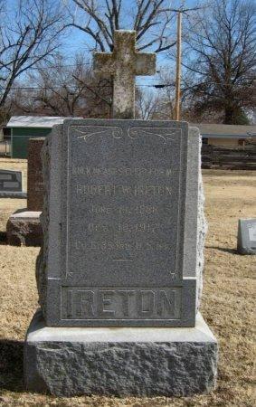 IRETON, ROBERT WILLIAM (VETERAN WWI) - Cowley County, Kansas | ROBERT WILLIAM (VETERAN WWI) IRETON - Kansas Gravestone Photos