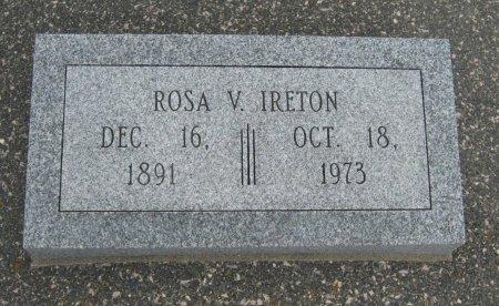 IRETON, ROSA V - Cowley County, Kansas | ROSA V IRETON - Kansas Gravestone Photos
