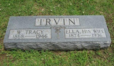 IRVIN, WILLIAM TRACY - Cowley County, Kansas | WILLIAM TRACY IRVIN - Kansas Gravestone Photos